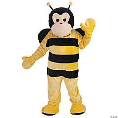 Adult's Bee Mascot Costume
