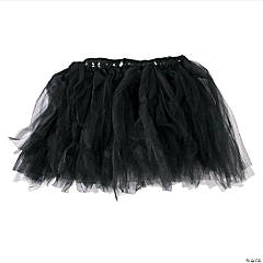Adult's Black Tulle Tutu