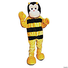 Adult's Bumble Bee Mascot Costume