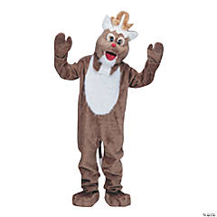 Adultu0027s Complete Reindeer Mascot Costume  sc 1 st  Oriental Trading & Reindeer Costumes | Oriental Trading