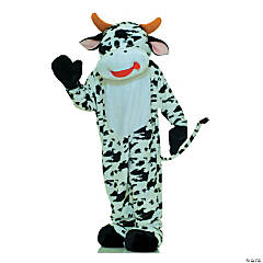 Adult's Cow Mascot Costume