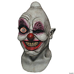 Adult's Crazy Eye Clown Digital Mask