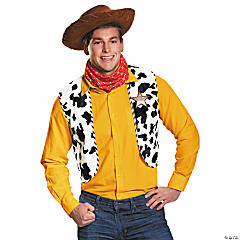 Adult's Deluxe Woody Costume Kit