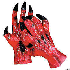 Adult's Devil Hands