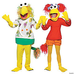 adults fraggle rock couples costumes - Fraggle Rock Halloween Costumes