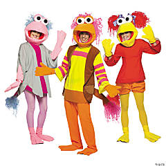 Adult's Fraggle Rock Group Costumes