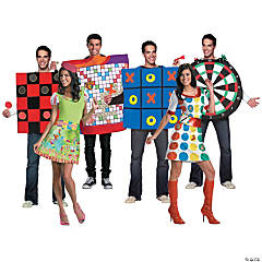 Adult's Game Night Group Costumes