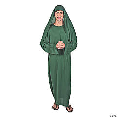 Adult's Green Shepherd Robe and Hat