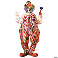 Adult's Harpo Hoop Clown Costume