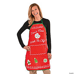 Adult's Holiday Baking Apron