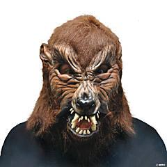 Adult's Howl O Ween Werewolf Mask