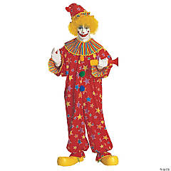 Adult's Jumpsuit Clown Costume