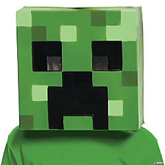 Adult's Minecraft Creeper Vacuform Mask