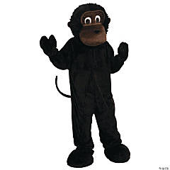Adult's Monkey Mascot Costume