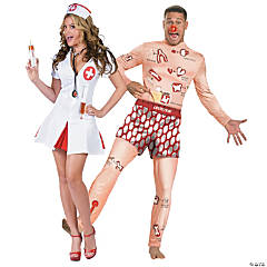Adult's Operation & Nurse Couples Costumes