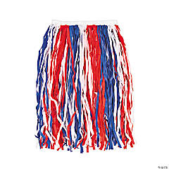 Adult's Patriotic Hula Skirt