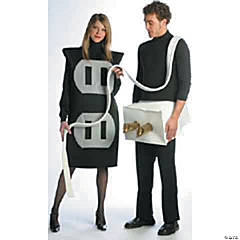 Adult's Plug & Socket Couples Costumes