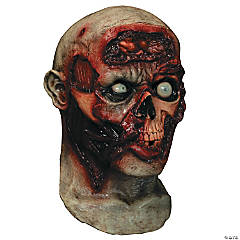 Adult's Pulsing Zombie Brains Digital Mask