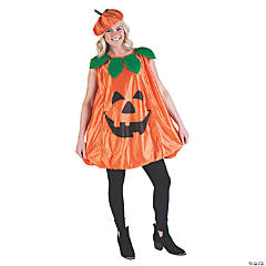 Adult's Pumpkin Costume