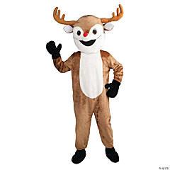 Adult's Reindeer Mascot Costume