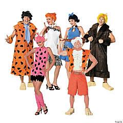 Adult's The Flintstones Group Costumes