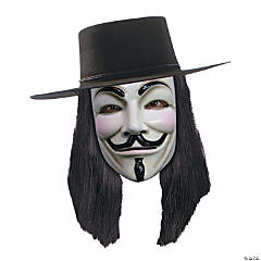 Adult's V for Vendetta™ Wig