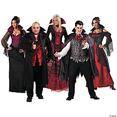 Adult's Vampire Group Costumes