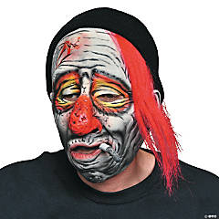 Adult's Whiskey the Clown Mask