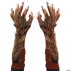 Adult's Wolf Gloves