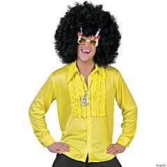 Adult's Yellow Saturday Night Large Shirt