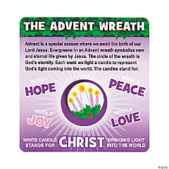 Advent Mini Buttons with Card