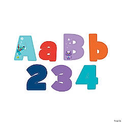 Adventure Pet Bulletin Board Letters & Numbers