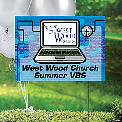 Agents of Truth Custom Photo VBS Yard Sign