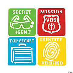 Agents of Truth Top Secret Stencils