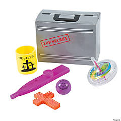 Agents of Truth Toy-Filled Favor Boxes