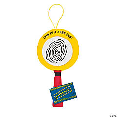 Agents of Truth VBS Fingerprint Maze Sign Craft Kit