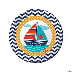 Ahoy Matey Paper Dinner Plates