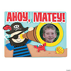 Ahoy Pirate Picture Frame Magnet Craft Kit