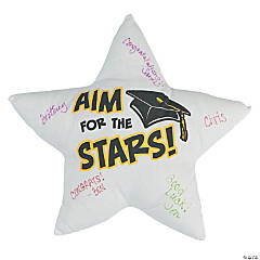 Aim For the Stars Autograph Pillow