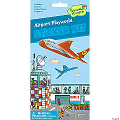 Airport Playworld Quick Sticker Kit