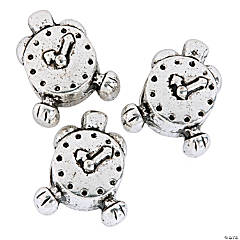 Alarm Clock Large Hole Beads - 11mm