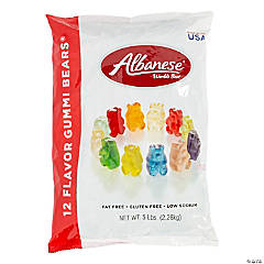 Albanese<sup>®</sup> Gourmet Assorted Flavor Gummy Teddy Bears