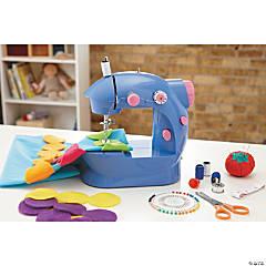Alex Toys Sew Fun Beginner Sewing Machine with Rainbow Dot Pillow Kit