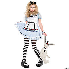 Alice In Wonderland Costume for Girls