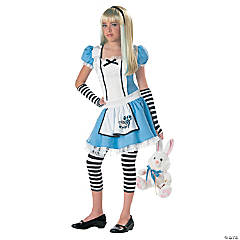 Alice in Wonderland Tween Costume for Girls