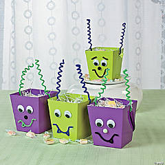 Alien Favor Buckets Idea