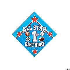 All Star 1st Birthday Beverage Napkins