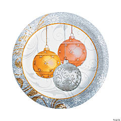 All That Glitters Paper Dinner Plates