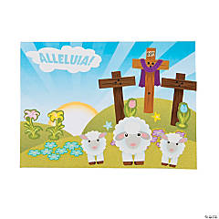 Alleluia Mini Sticker Scenes