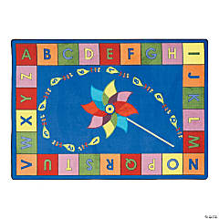 Alphabet Pinwheel® Classroom Rug